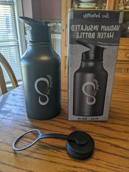 Live Infinitely Double Walled Vacuum Insulated Water Bottle