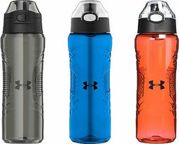 Under Armour Draft 24 Ounce Tritan Bottle with Flip Top Lid,