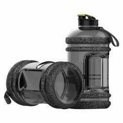 2.2L Large Drink Water Bottle Cap Big BPA Free Gym Training
