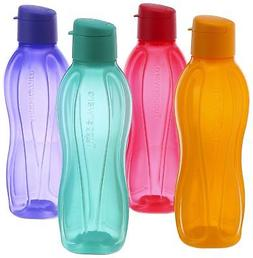 Tupperware Eco Flip Top Water Bottle 1000ml / 33 Oz Bottles
