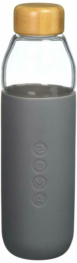 Eco-Friendly Glass Water Bottle BPA Free 17oz MADE FROM THE