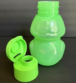 Tupperware Eco Water Bottle Kids Frog 12 oz. Green New