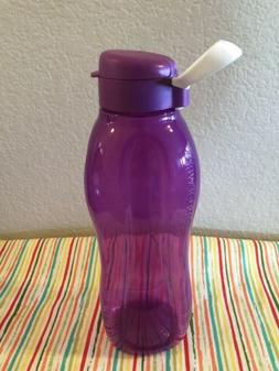 Tupperware Eco Water Bottle w/ Handle 50oz / 1.5L Purple New