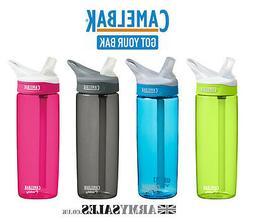 Camelbak EDDY 0.6L  Spill Proof Sports Water Bottle - NEW Co