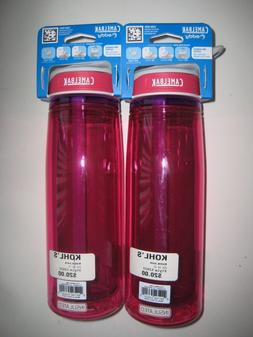 CAMELBAK eddy SPILL PROOF INSULATED WATER BOTTLE  .6L FLAMIN