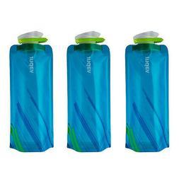 Vapur Element .7L Collapsible Water Bottle - Water Blue - 2