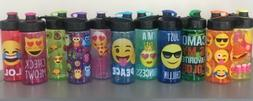 Emoji Travel Water Bottle Summer Cool - Choose Your Design!