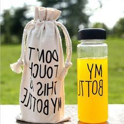 Fashion my bottle 500ml plastic sports water bottle Lemon Ju