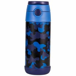Snug Flask For Kids - Vacuum Insulated Water Bottle With Str