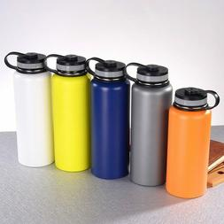 Flask Hydro Water Bottle Stainless Steel Vacuum Insulated Wi