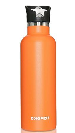 Flask Thermos Insulated Water Bottle With Straw Drinking Vac