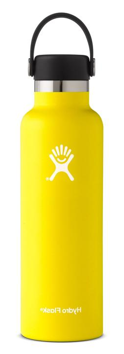 Hydro Flask Standard Flex Cap Bottle, Size One Size - Yellow