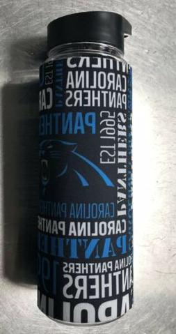 Flip Straw with Carolina Panthers Koozie Drinks Sport Water