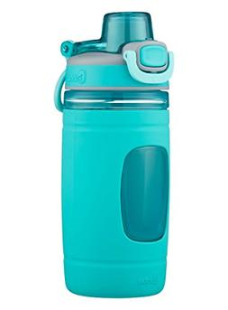 bubba Flo Kids Water Bottle with Silicone Sleeve, 16 oz., Aq