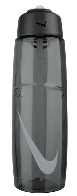 Nike 32 oz T1 Flow Swoosh Water Bottle, 32 oz, Anthracite/Gr