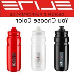 New Elite Fly H20 750ml Pro Bike Water Bottle BPA Free Recyc