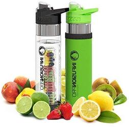 Infusion Pro Premium 2 Pack Fruit Infused Water Bottle - Bot