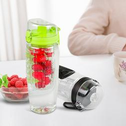 Fruit Infused Water Bottles BPA Free 32 oz Fruit Infuser Wat