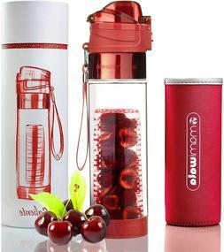 Mami Wata Fruit Infuser Water Bottle, Beautiful Gift Box -In