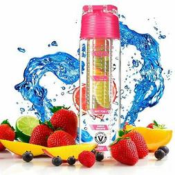 Fruit Infuser Water Bottle Celebrity Fitness Ltd Edition Ath