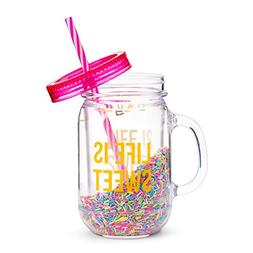 bea0254e833f Fun Mason Jar Plastic Cups: Large Break ...