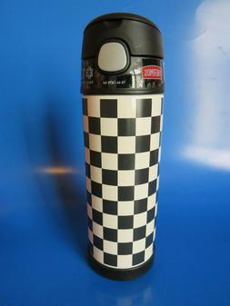 Thermos FUNtainer 16-Ounce Stainless Steel Water Bottle with