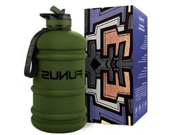Gallon Water Bottle 2.2L Large Water Bottle BPA Free Leak Pr