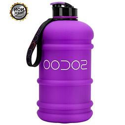 SOCOO Gallon Water Jug 2.2 Liter Big Water Jug for Women Men
