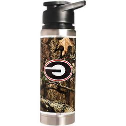 Georgia Bulldogs Mossy Oak Camo NCAA Stainless Steel Water B