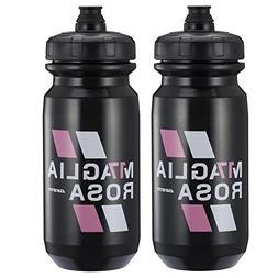 Giant Giro d'Italia Bike Water Bottles - 600ml, Black Maglia