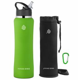 Swig Savvy Green 32 Oz Stainless Steel Insulated Water Bottl