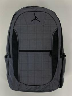 Jordan Grid 2-Strap Backpack - Dark Graphite, One Size