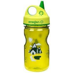Nalgene Grip 'n Gulp Trail Bottle, Green
