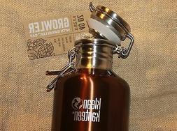 KLEAN KANTEEN GROWLER Sports Water Bottle Stainless Steel 40