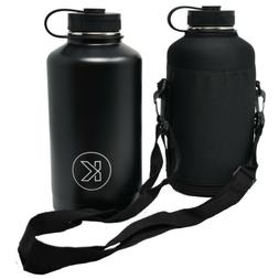 KOLLOX Growler Stainless Steel Vacuum Water Bottle with Carr