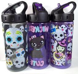 Cool Gear Halloween 16 oz. Plastic Water Bottle w/ Flip Up S