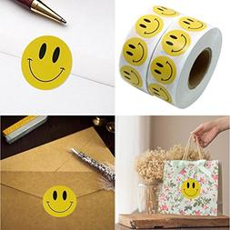 Sujing Happy Face Stickers Smiley Face Stickers Circle Dots