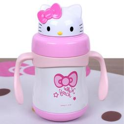 Hello Kitty Tumbler Thermos Water Bottle Stainless Steel 220