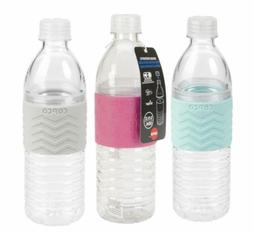 Copco Hydra Water Bottle BPA Free Plastic Reusable 16.9 Oz 2 Pack Gray Purple