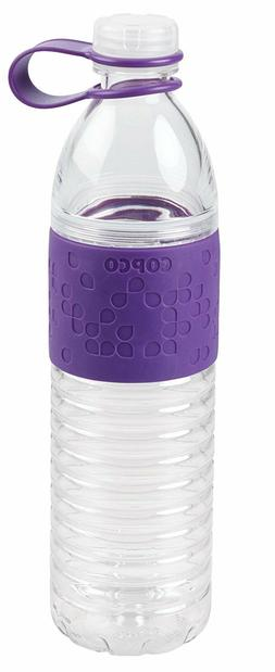 Copco Hydra Reusable Water Bottle with Tethered Cap , 2510-2