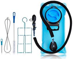 Hydration Water Bladder Bag 2.0 Liter Pack - With Insulated