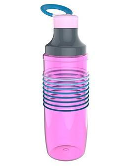 Zak Designs HydraTrak Chug Single Wall Bottle with 8 Ombre M