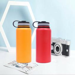 Hydro Flask 32oz/40oz Sports Water Bottle Stainless Steel In