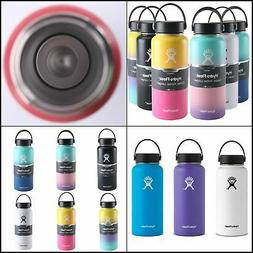 Hydro Flask Stainless Steel Water Bottle Insulated Wide Mout