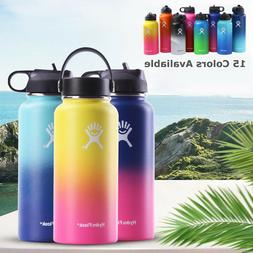 Hydro Flask Vacuum Insulated  Wide Mouth Water Bottles 32/40