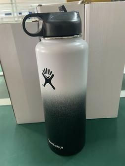 Hydro Flask Water Bottle 40 oz - Stainless Steel + Straw Lid
