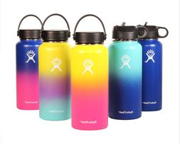 Hydro Flask Wide-Mouth Vacuum Water Bottle with Flex Straw L