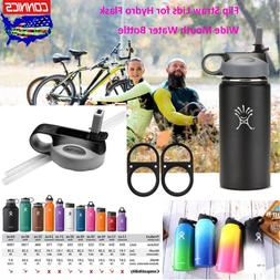 For Hydro Flask Wide Mouth Water Bottle US Stock Flip Lid Co
