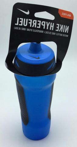 Nike Hyperfuel Water Bottle 18oz/.53L Photo Blue/Black New