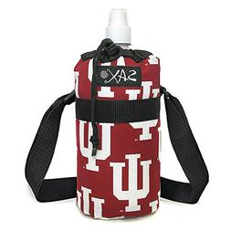 INDIANA University WATER BOTTLE CARRIER Holder Insulated! A